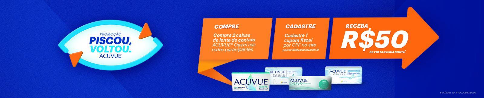 Acuvue Cashback