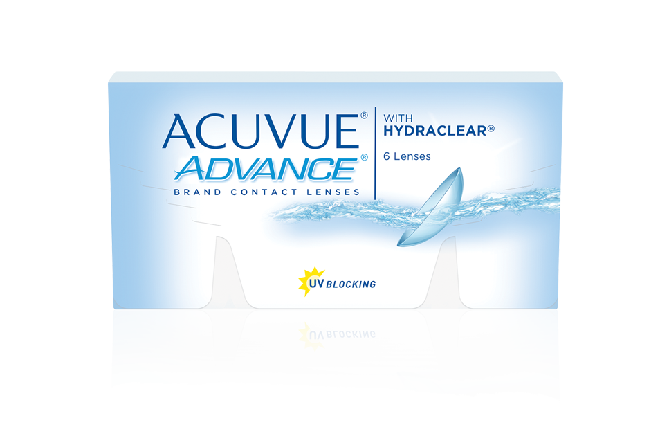 ACUVUE® ADVANCE com HYDRACLEAR®