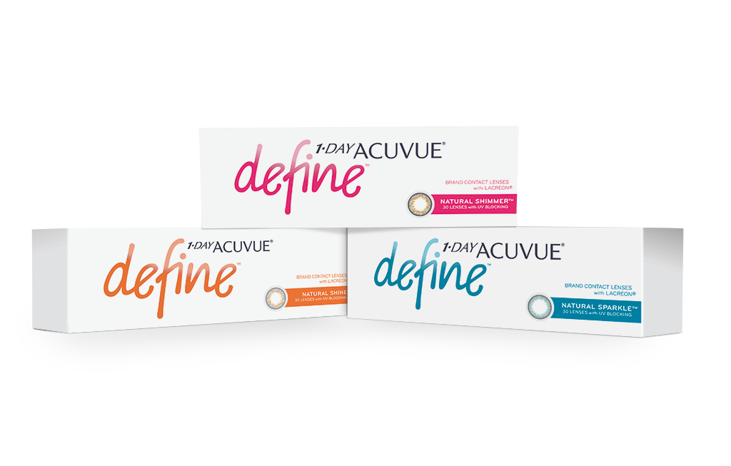 1-DAY ACUVUE® DEFINE® com LACREON®