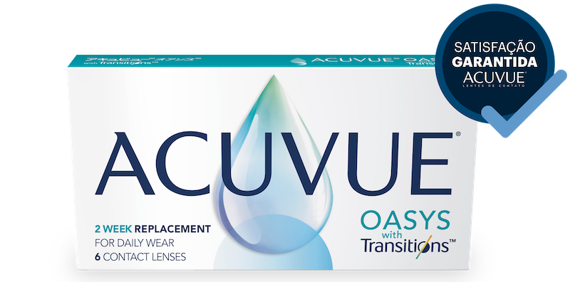 ACUVUE® OASYS com Transitions™